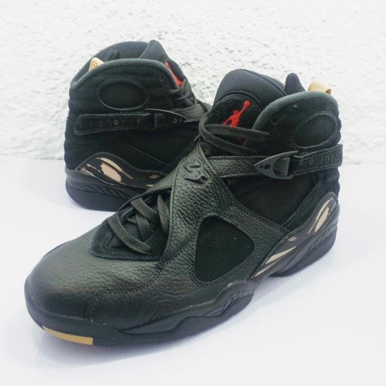 buy online db1fe 7c365 Air Jordan 8 Retro Ovo Black (nuevo En Caja #27.5)