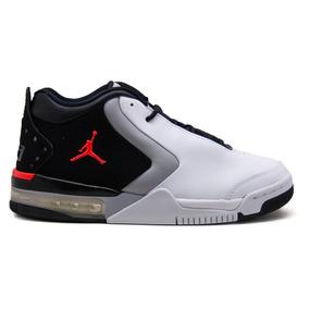 new arrival cc0eb 75d32 Tenis Nike Air Jordan Big Fund Bv6273-101 Blanco