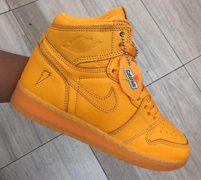 075e9c03e54 get zapatillas nike air jordan 1 retro high og shattered naranja. cargando  zoom. a93ec a6936  coupon for air jordan retro 1 high gatorade naranja.  cargando ...