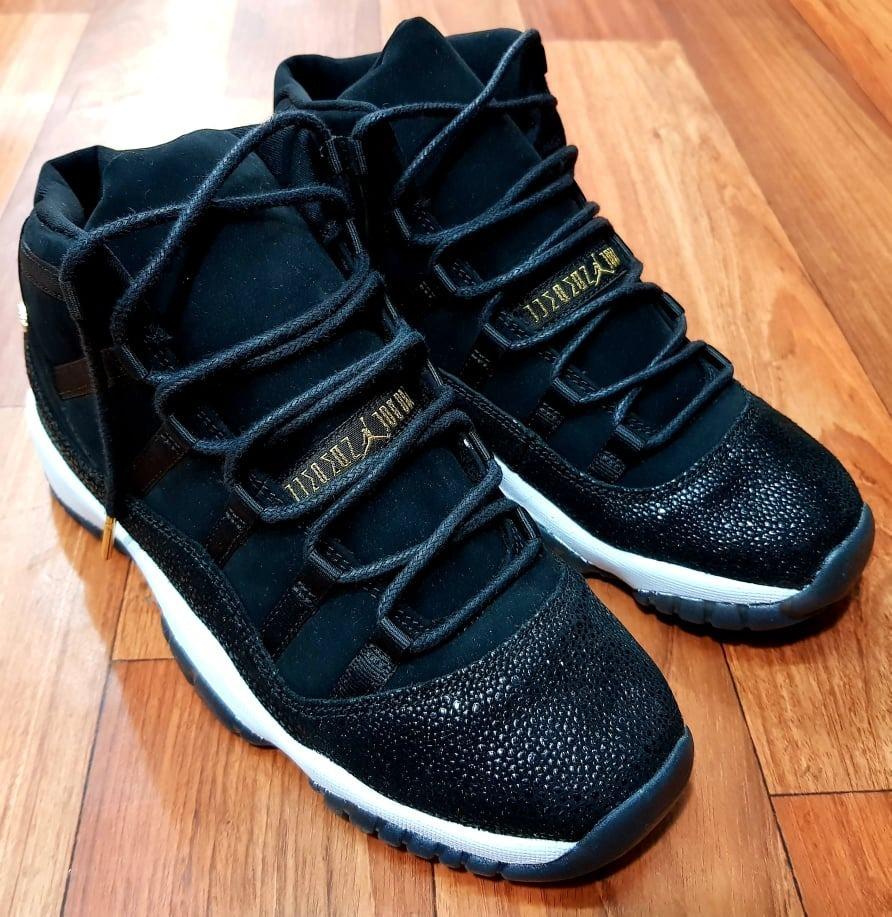 competitive price d92bb 631ae Air Jordan Retro 11 Heiress Black Black Stingray