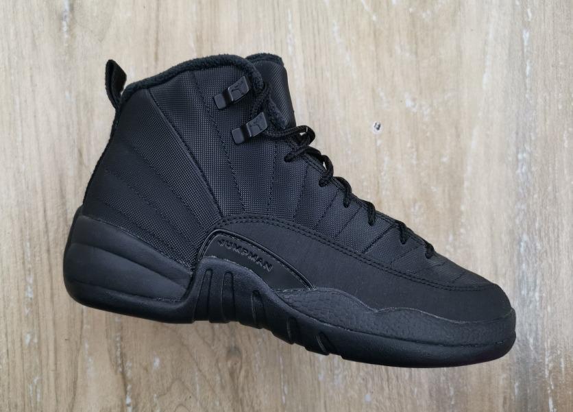 reputable site 154c8 04882 Air Jordan Retro 12 Winter Black