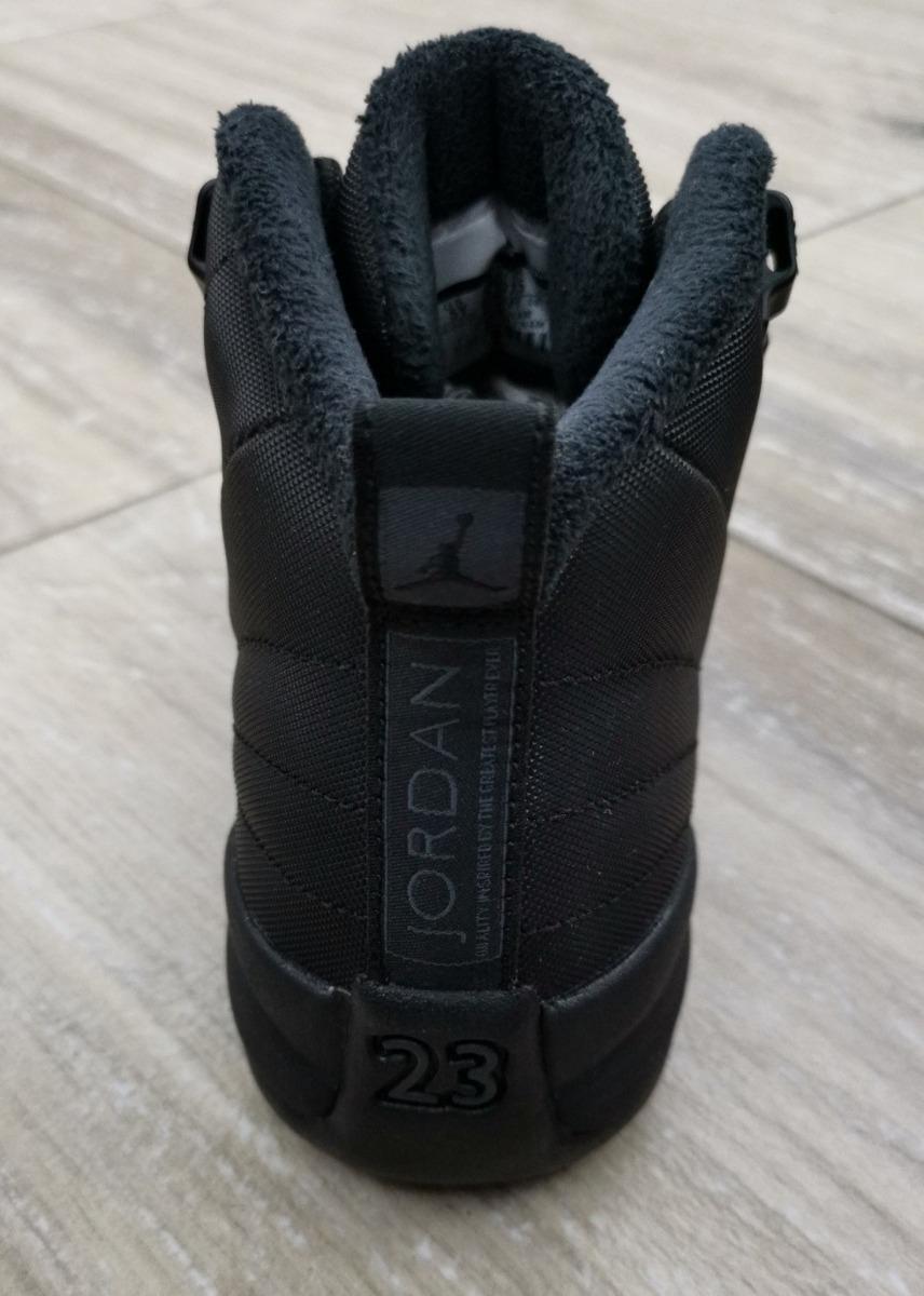 reputable site 4cb89 fcfef Air Jordan Retro 12 Winter Black