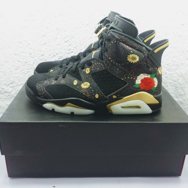 official photos 85947 5d7c9 Air Jordan Retro 6 Chinese New Year (nuevos En Caja #31