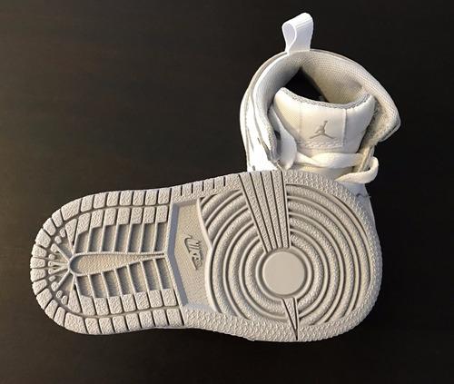 air jordan zapatillas botitas cuero 1 mid bt lv importados