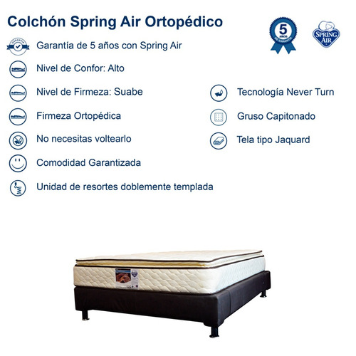 air king size colchon spring