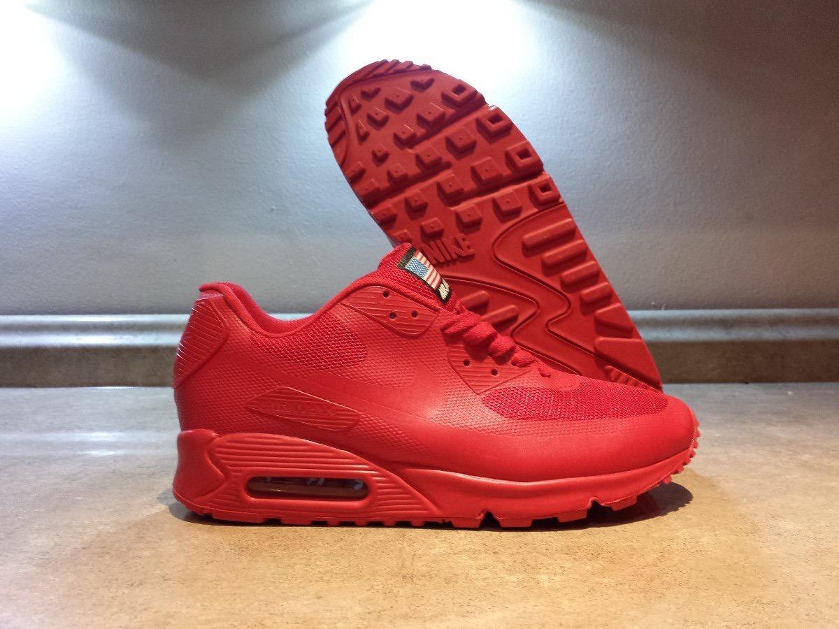 AIR MAX 90 rojo