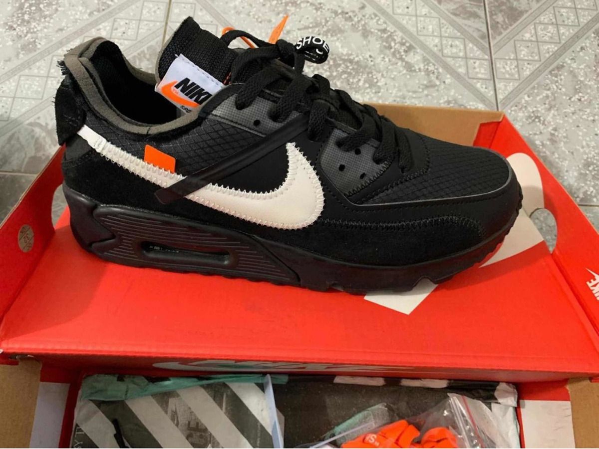 finest selection 7b9eb 5e8c5 Air Max 90 Off White Nuevo En Caja