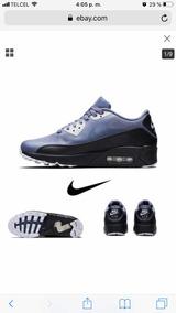new concept 249fd 333cd Azul Claro Tenis Nike Air Max 90 Unisex Morado Hombre - Tenis en ...