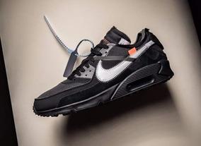 sports shoes 33ab9 59950 Air Max 90 X Off White Black #28