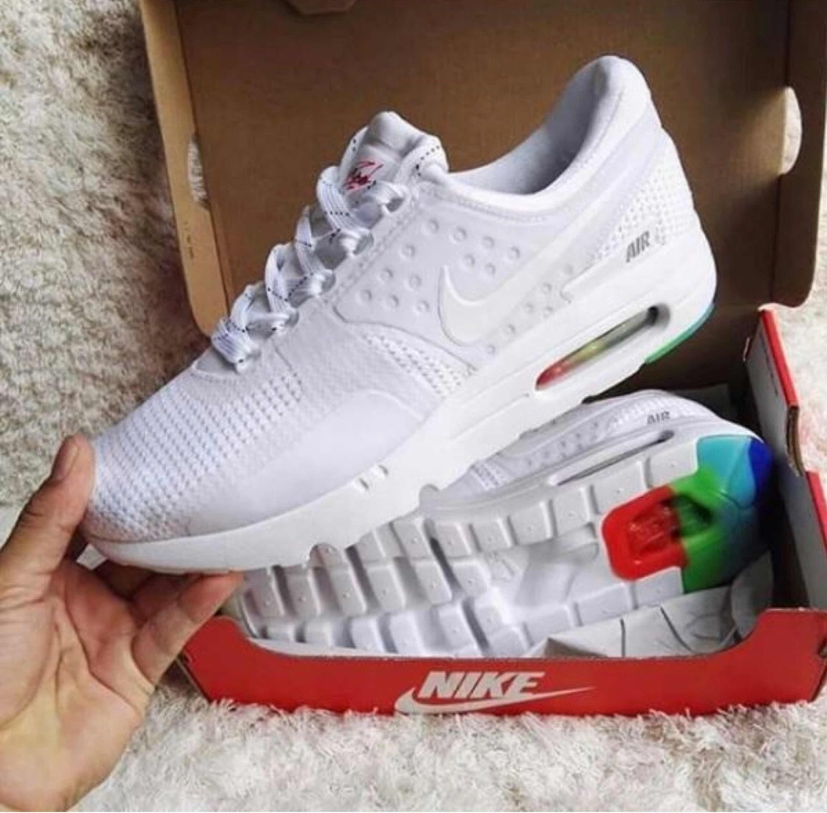 nike air max zero blancas usa