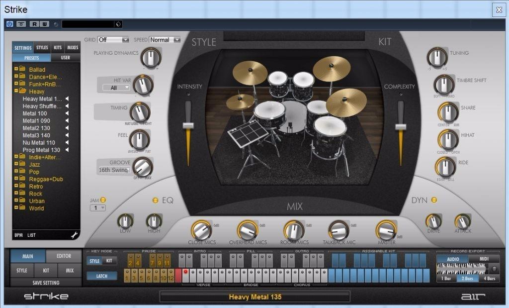 Air Music Technology Strike 2 0 7 Windows - Envio Imediato