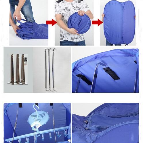air o dry secadora de ropa portátil plegable apto viaje casa