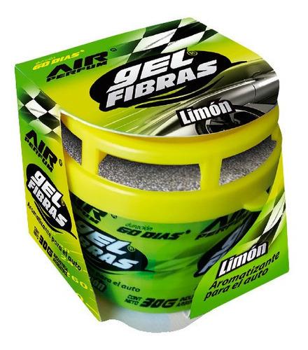 air perfum gel fibras 30g aromatizante para autos