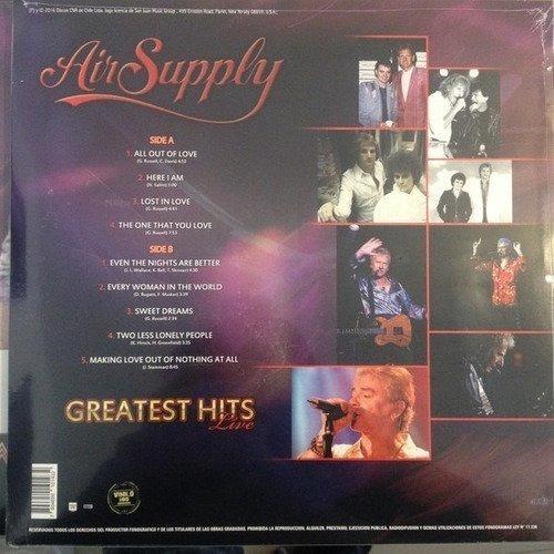 air supply greatest hits live vinilo nuevo musicovinyl
