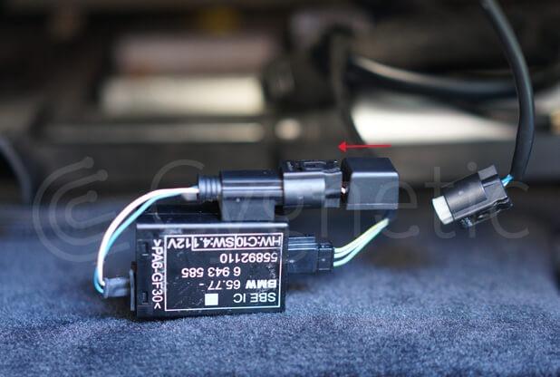 Derivación de alarma de Cinturón de asiento del pasajero para BMW 5 Series E60E61 Simulador de luz de advertencia