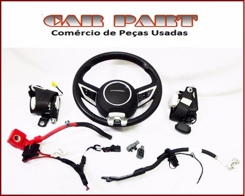 airbag camaro 2010/2011/2012 - kit air bag completo
