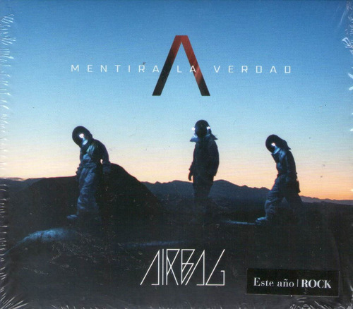 airbag lote de 5 cds + 1 dvd sellados 100% originales