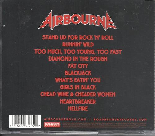 airbourne runnin wild 2007 heavy cd (ex-/ex)(us) import