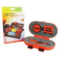 airbrush pack crayola para pintar en ipad