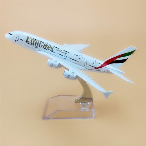airbus a380 escala 1:500, colores de emirates