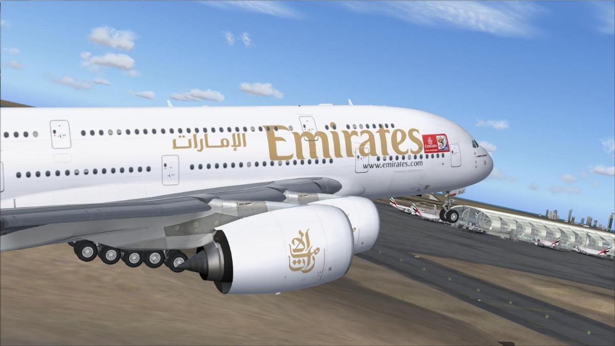 Airbus A380 Mega Pack Para Flight Simulator 2004 E Fsx