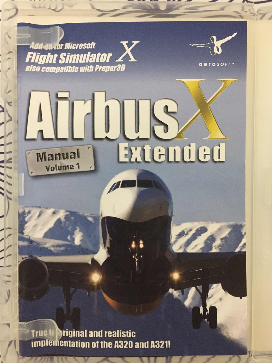 Airbus X Extended A320/a321 - Fsx - $ 299,99