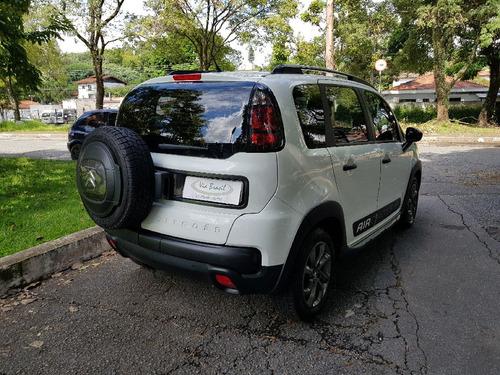 aircross 1.6 feel flex 2017 branco unico dono 4 pneus novos