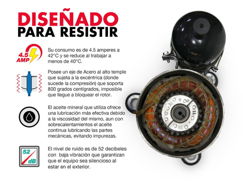 aire acondicion mirage x3 frio/calor 1 tonelada 110v