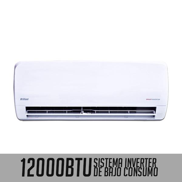 Aire acondicionado 12000 btu brilliant inverter u s 524 for Aire acondicionado 12000 frigorias