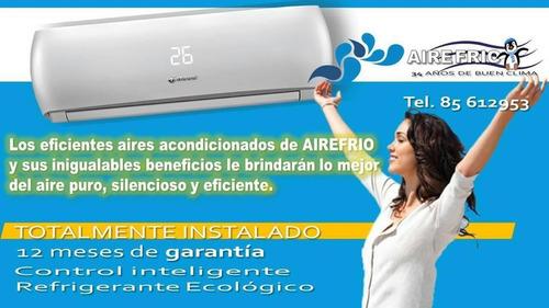 aire acondicionado 12000 btu inverter heredia,pavas,lindora