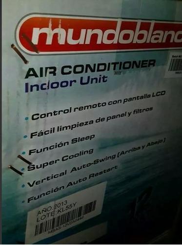 aire acondicionado 12btu.