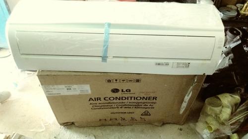 aire acondicionado 18000btu modelo split marca lg.