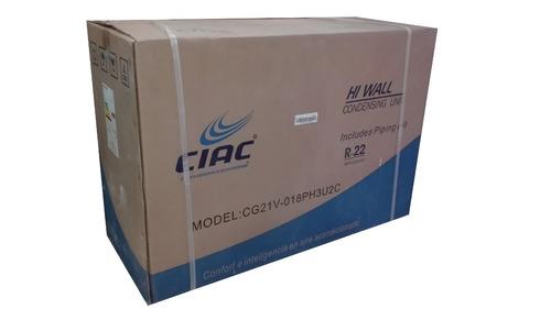 aire acondicionado 18000btu split 220v ciac carrier