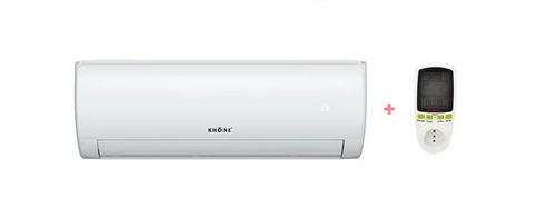 aire acondicionado 9.000 btu on/off + medidor de consumo