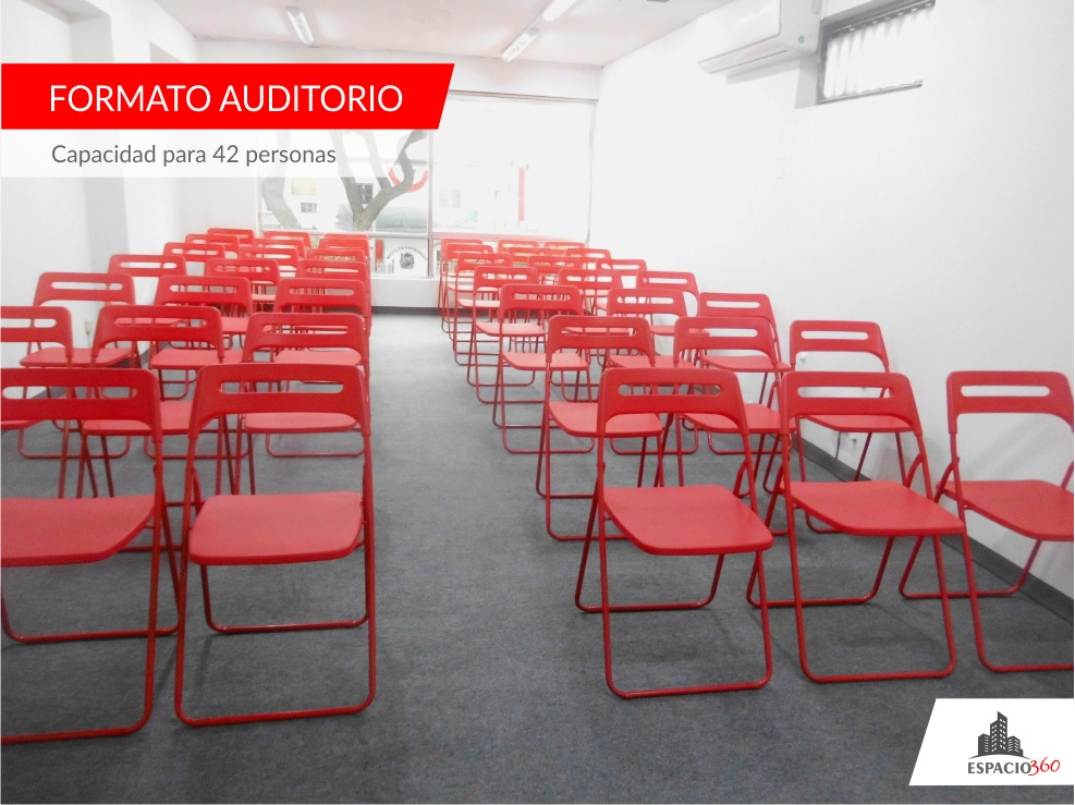[aire acondicionado ] alquiler de aula av. arequipa 1208