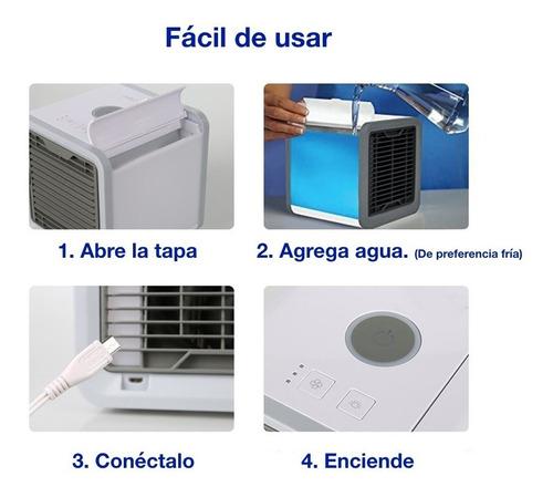 aire acondicionado antarctic air humidificador usb
