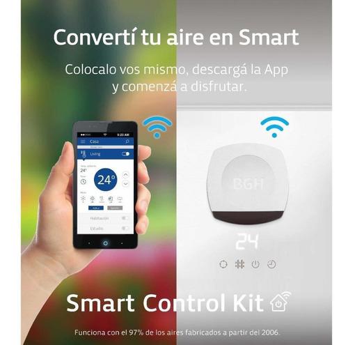 aire acondicionado bgh bsh35wcp  frio / calor + kit smart