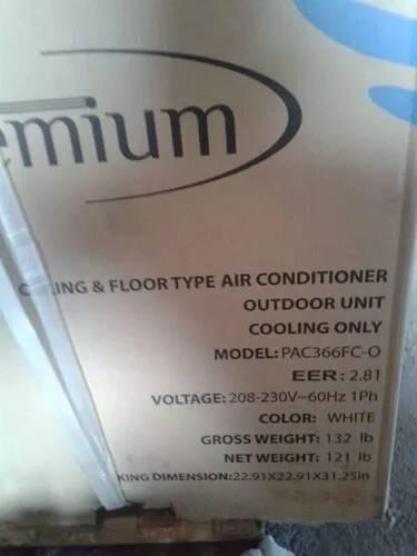 aire acondicionado btu