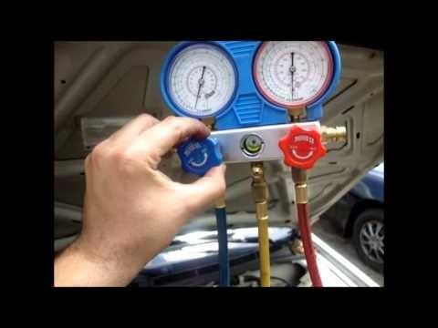 aire acondicionado carga reparación freon 12 y 134 v urquiza
