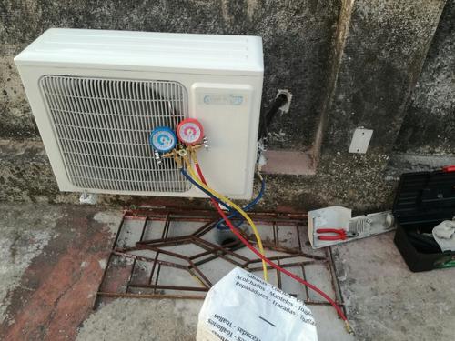 aire acondicionado carlos,matriculado .refrigeración