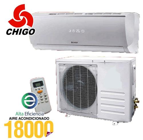 aire acondicionado chigo 18000 btu incluido iva