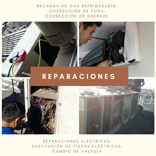 aire acondicionado, climatizacion. instalacion, mantencion