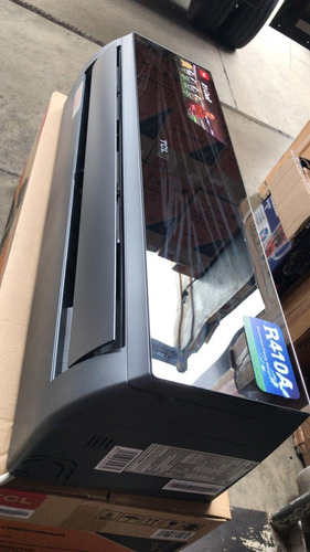 aire acondicionado cromado tcl tipo espejo 12000 btu