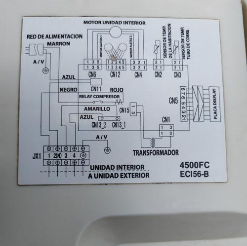 aire acondicionado daewoo 4500 frigorias frio/calor