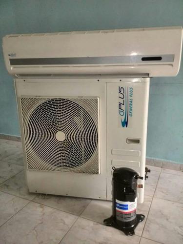aire acondicionado de 36000 btu  3ton.  general plus. split.