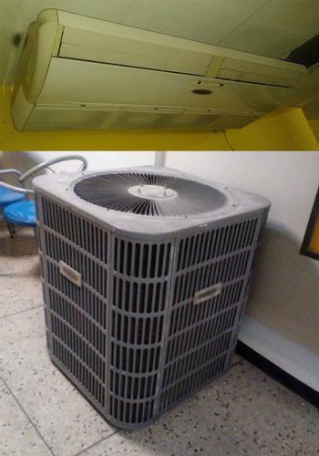 aire acondicionado de 5 tr marca frigilux tipo split 600vrd