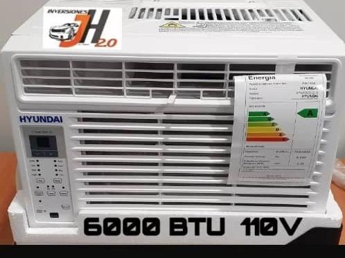 aire acondicionado de ventana con marco 6000 btu