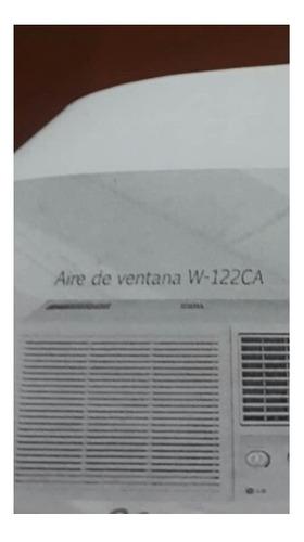 aire acondicionado de ventana w-122ca