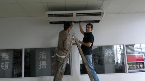 aire acondicionado instalación