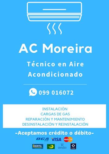 aire acondicionado: instalación, recargas de gas, reparación